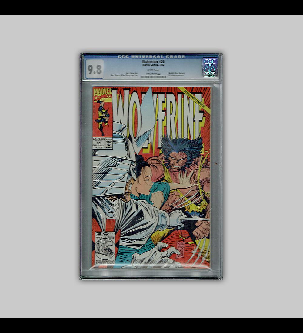 Wolverine 56 CGC 9.8 1992