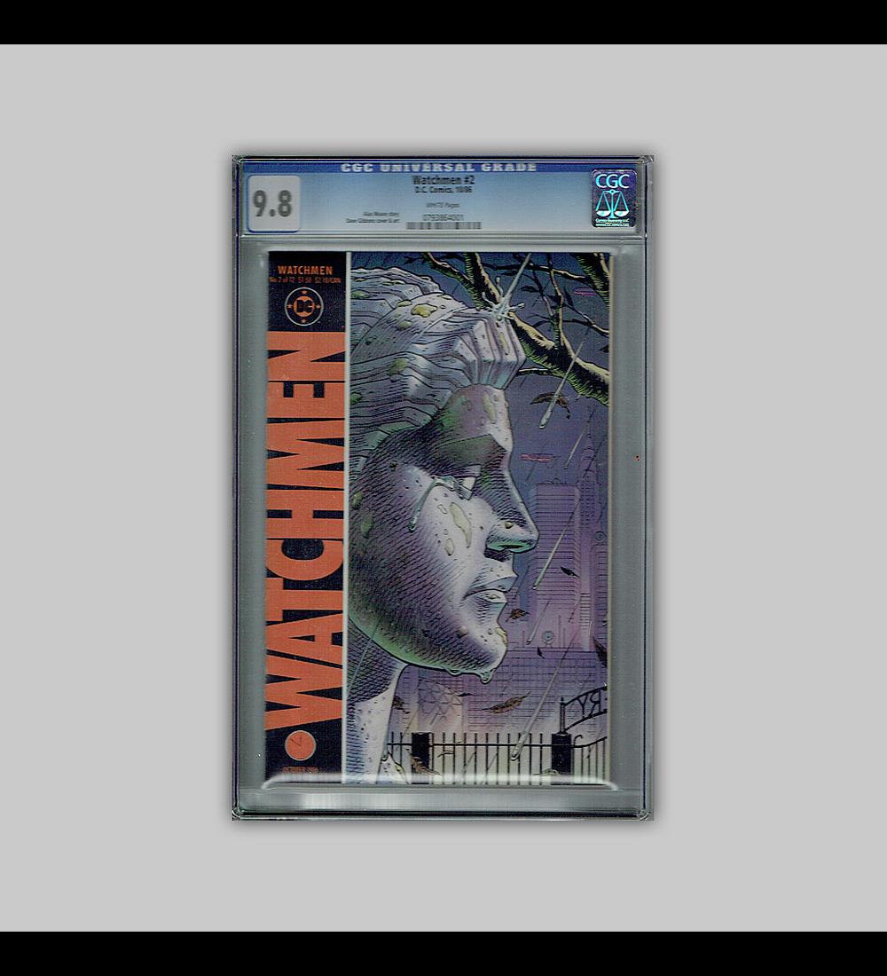 Watchmen 2 CGC 9.8 1986