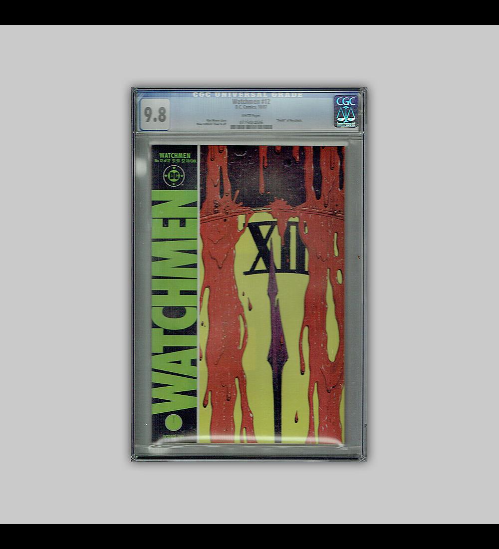 Watchmen 12 CGC 9.8 1987