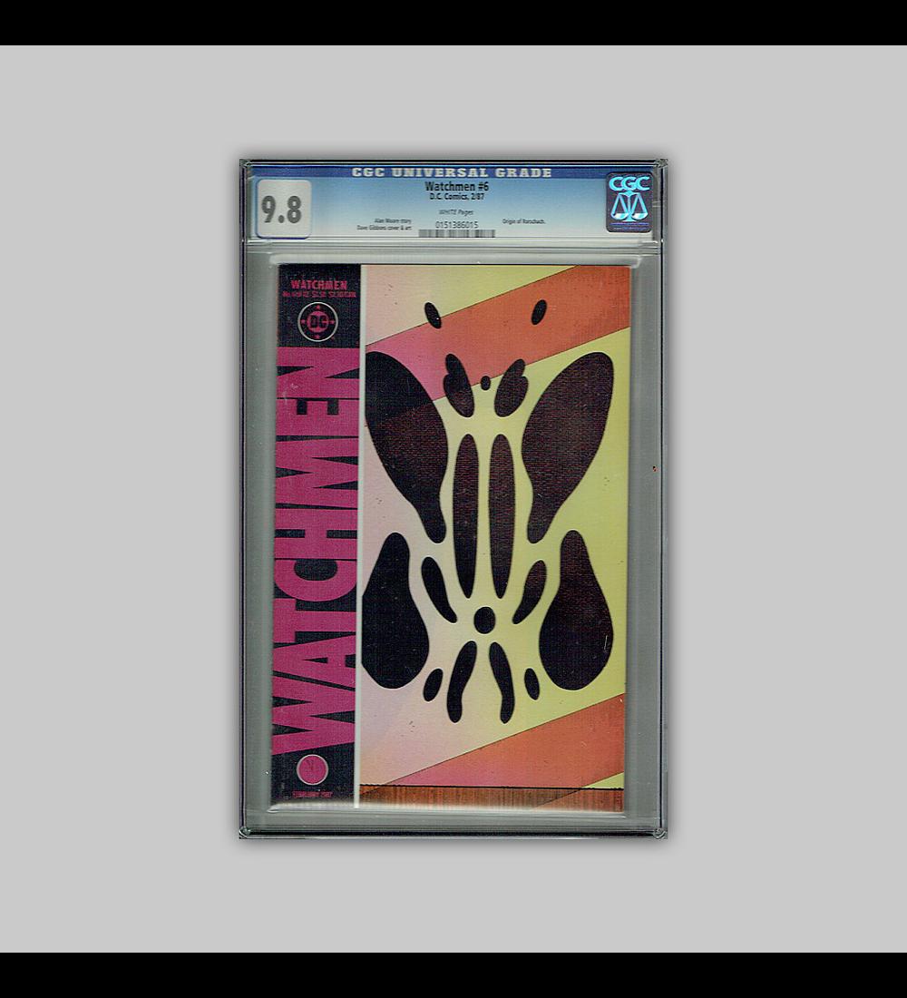 Watchmen 6 CGC 9.8 1987