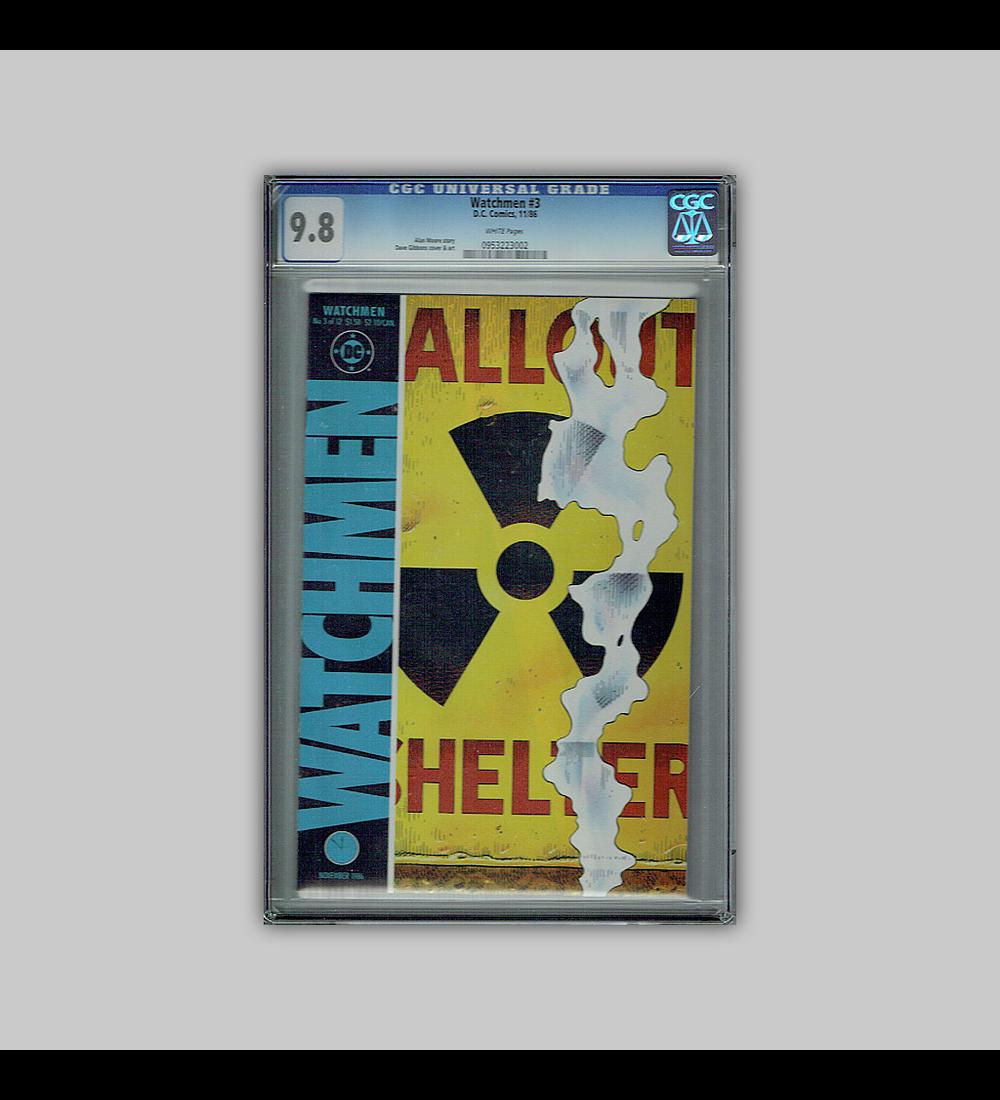 Watchmen 3 CGC 9.8 1986