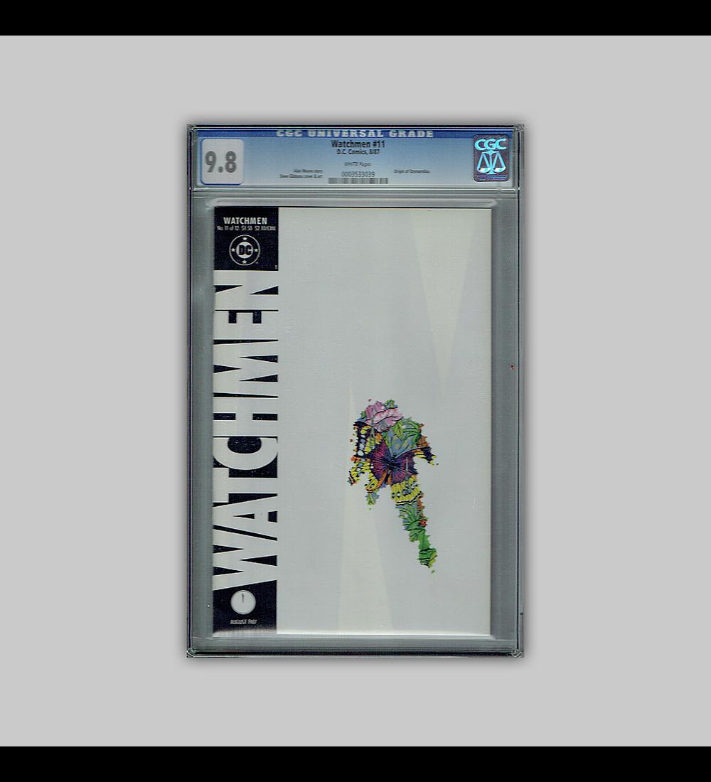 Watchmen 11 CGC 9.8 1987