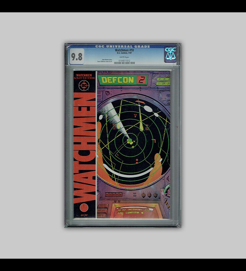 Watchmen 10 CGC 9.8 1987
