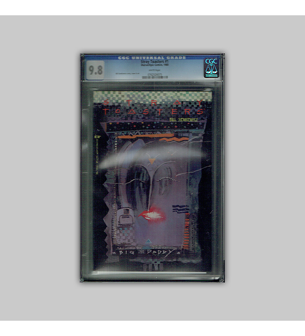 Stray Toasters 1 CGC 9.8 1988