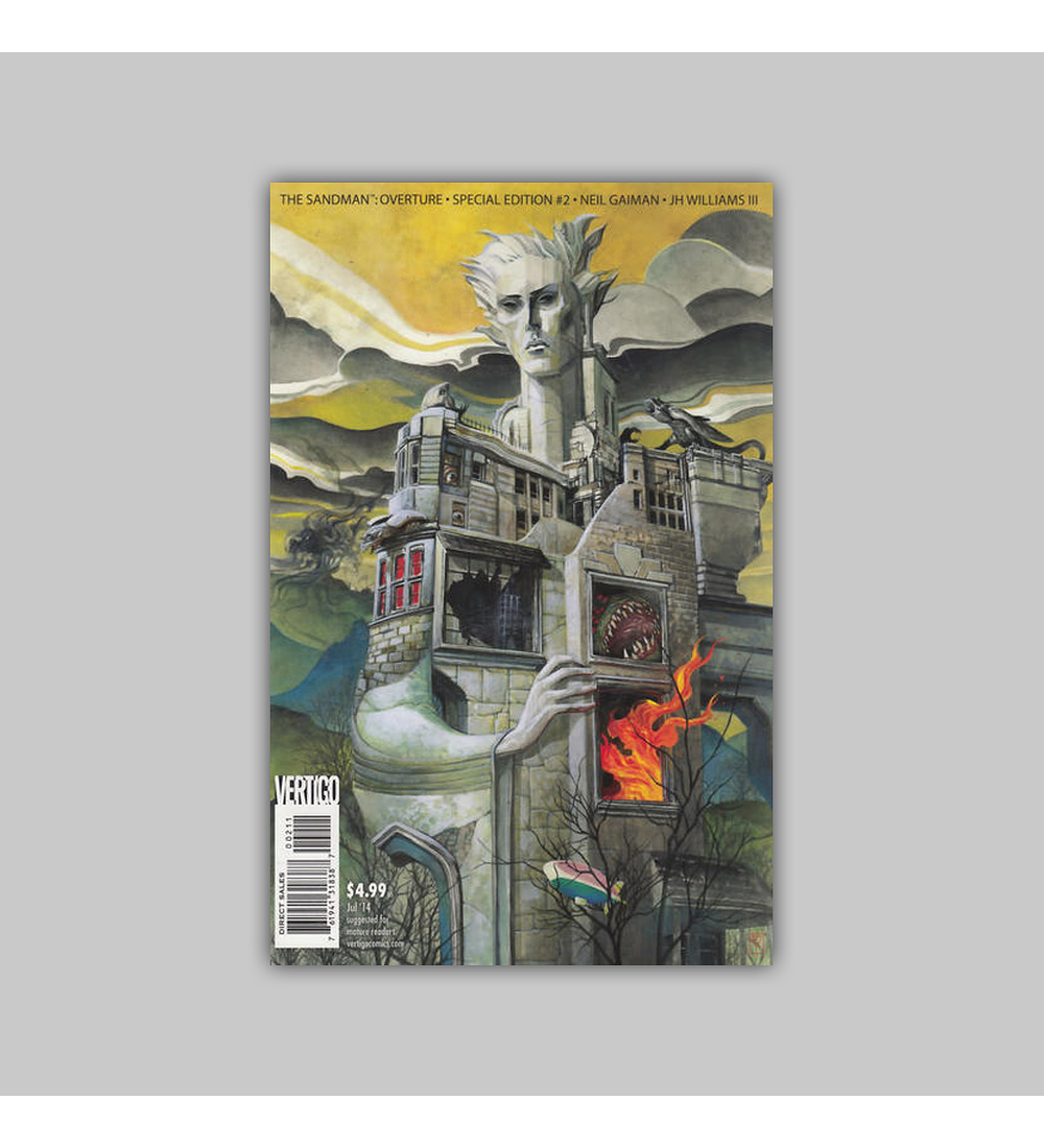 Sandman: Overture Special Edition 2 A 2014