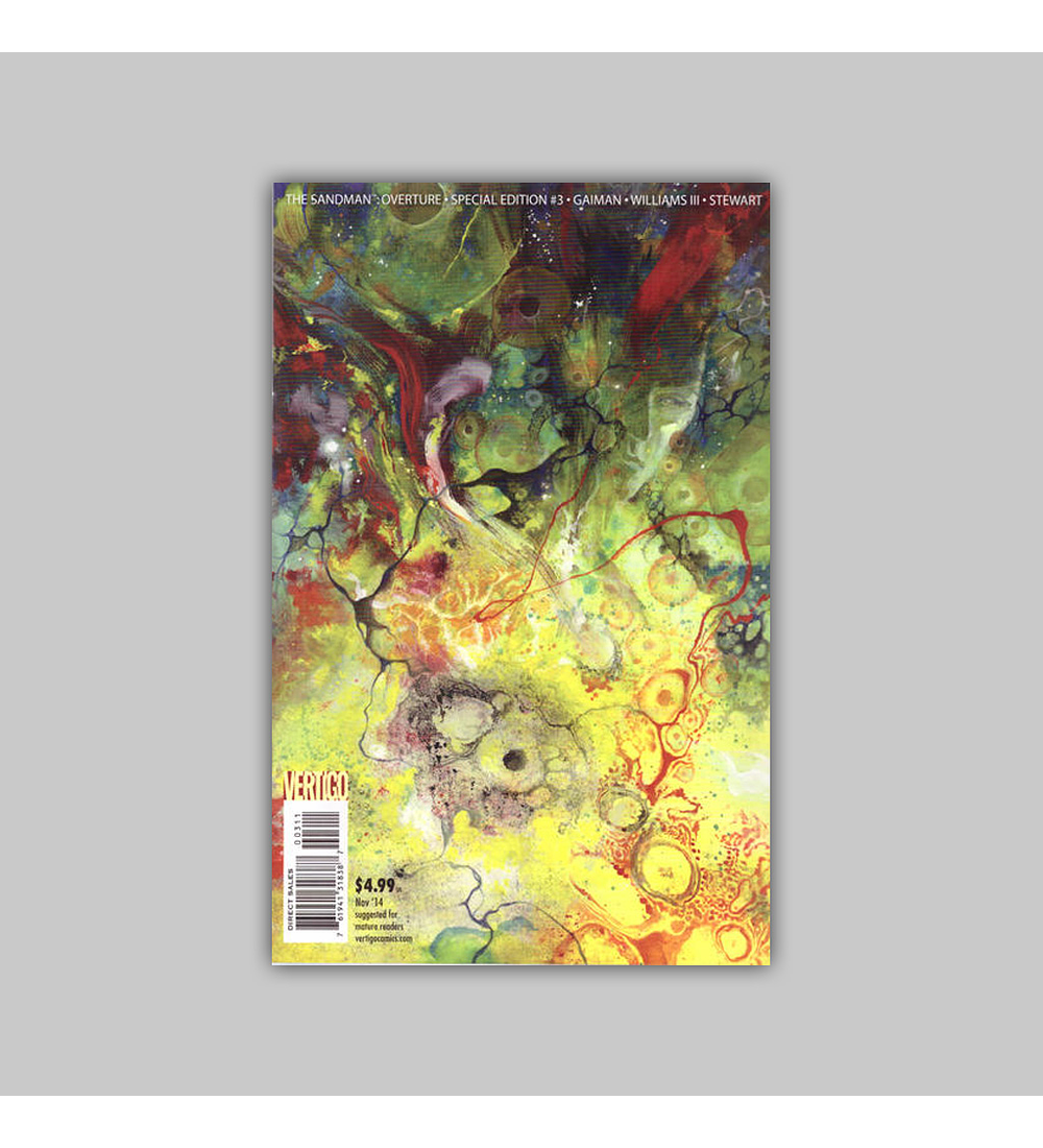 Sandman: Overture Special Edition 3 A 2014