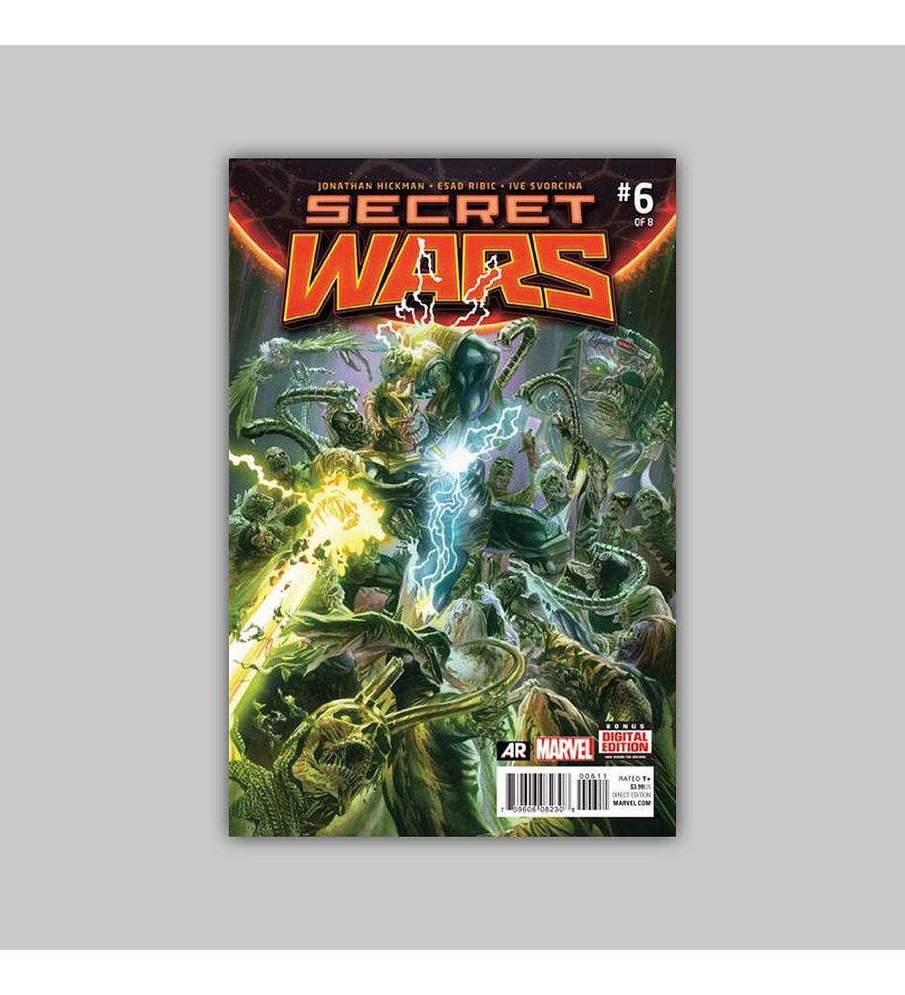 Secret Wars 6 2015