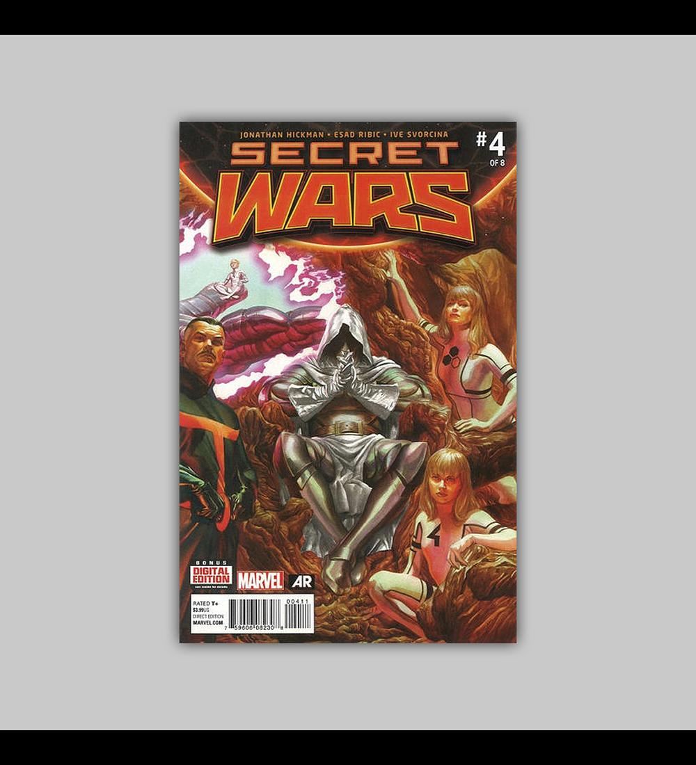 Secret Wars 4 2015