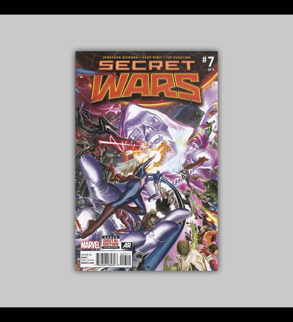 Secret Wars 7 2016