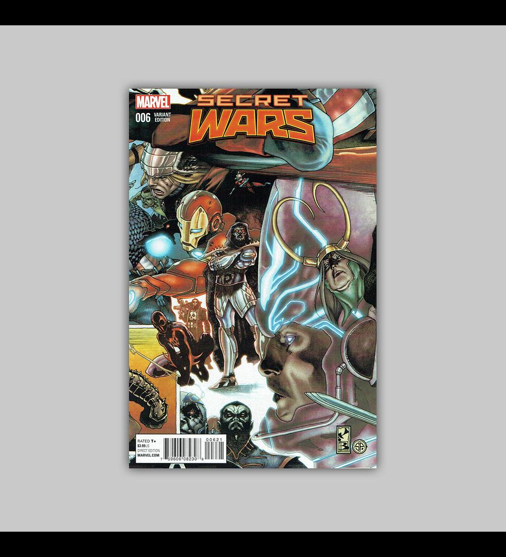 Secret Wars 6 B 2015