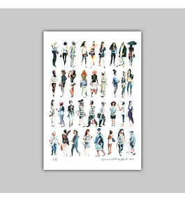 "Giclée ""Street Fashion 2"""