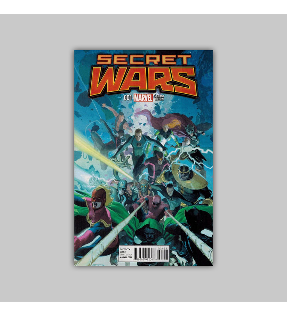 Secret Wars 1 C 2015