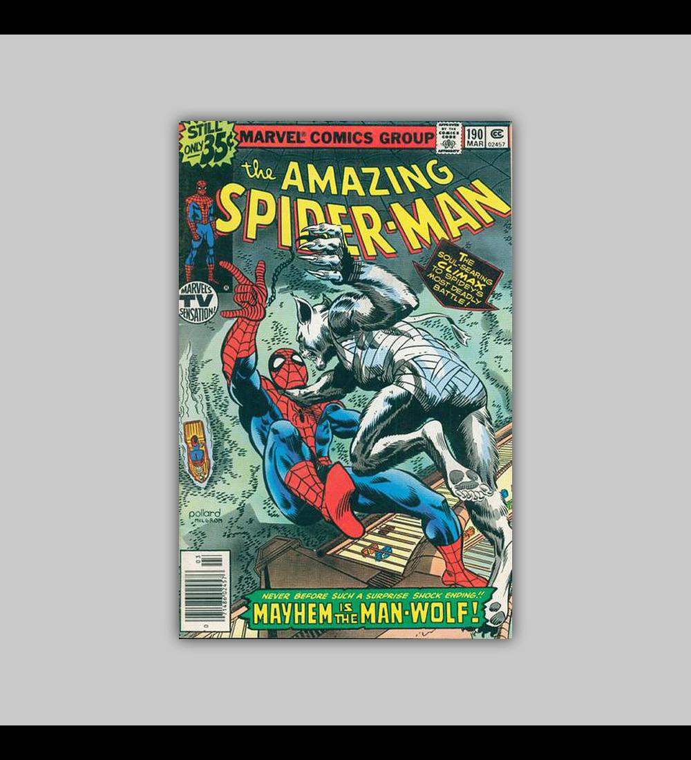 Amazing Spider-Man 190 VF (8.0) 1979