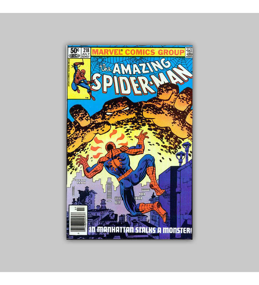 Amazing Spider-Man 218 NM (9.2) 1981