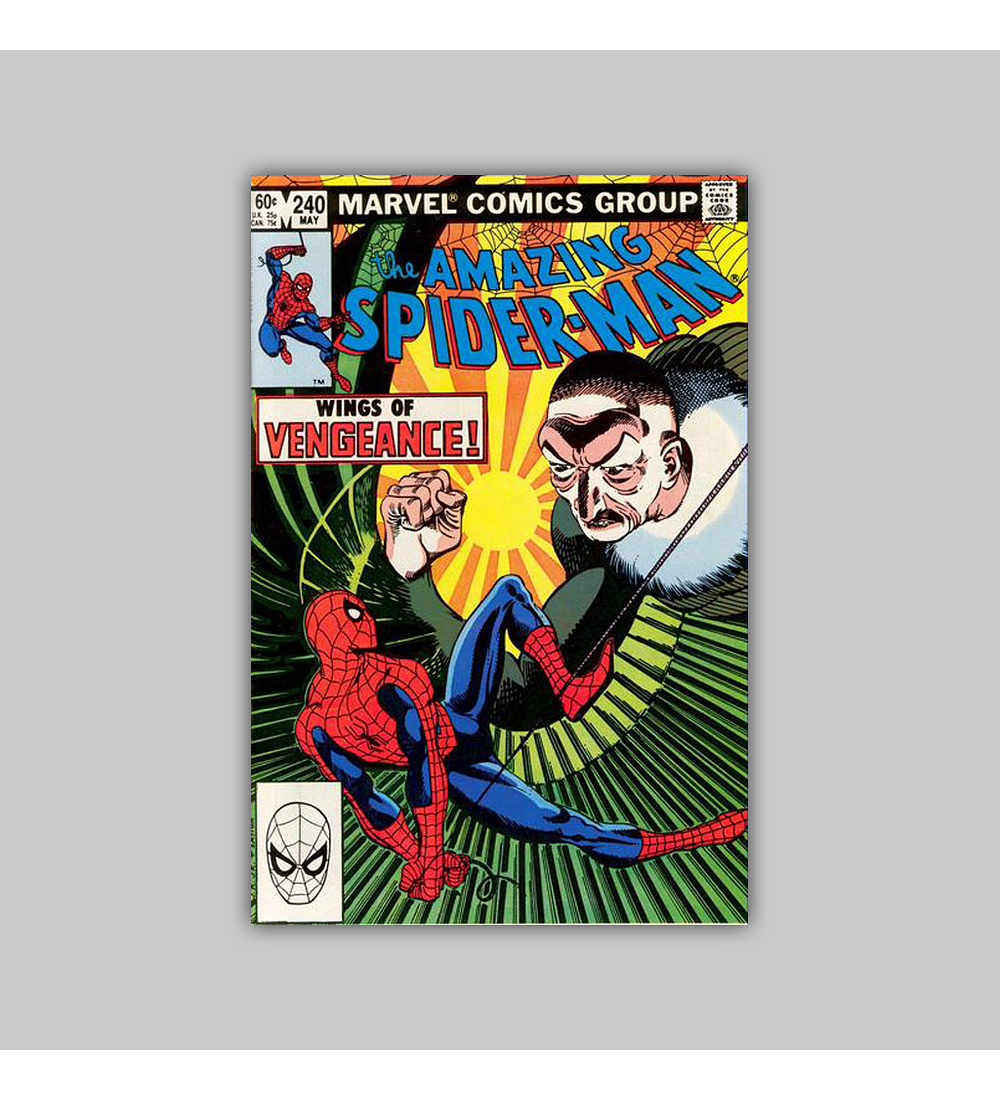 Amazing Spider-Man 240 FN (6.0) 1983
