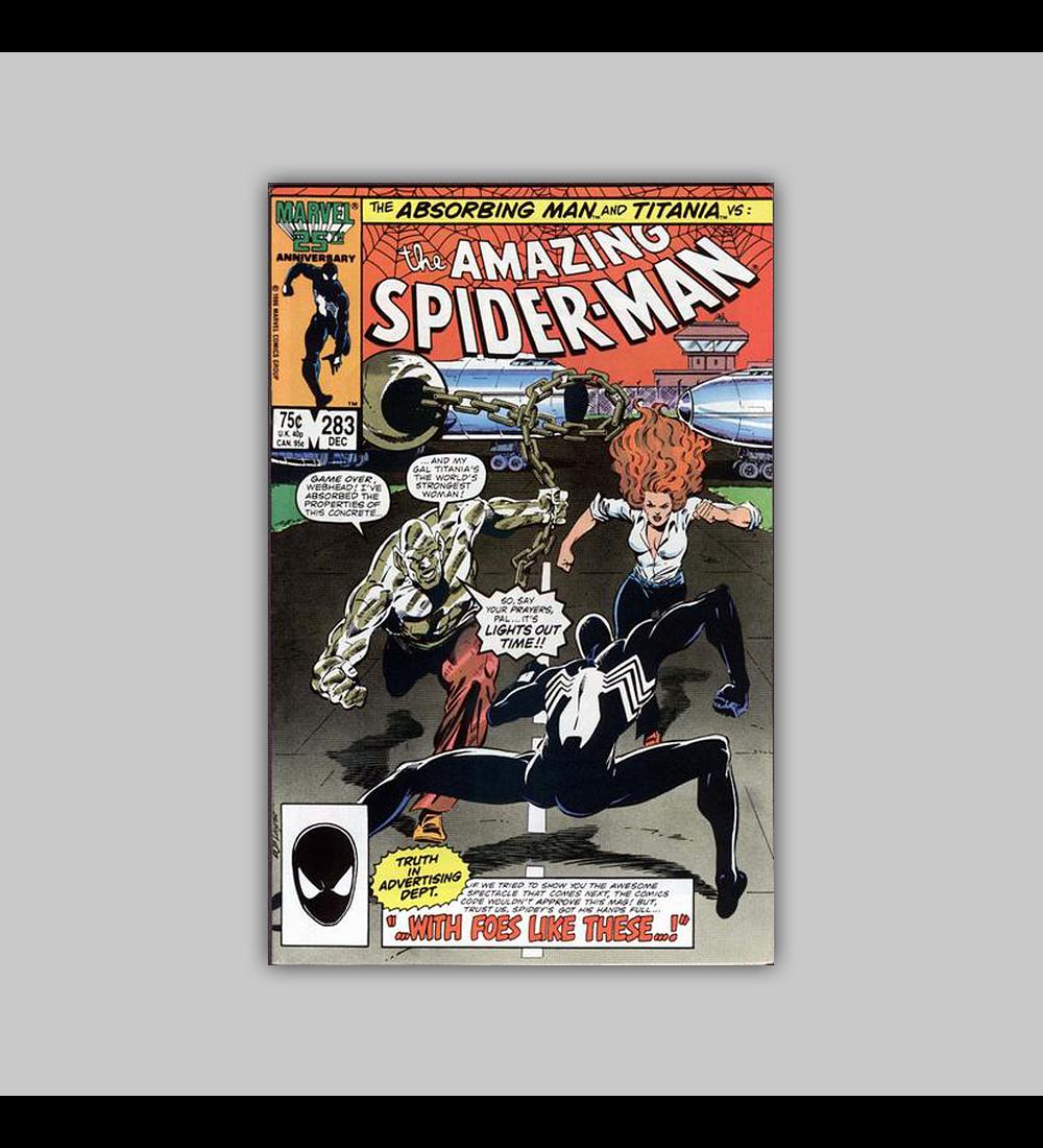 Amazing Spider-Man 283 NM (9.2) 1986