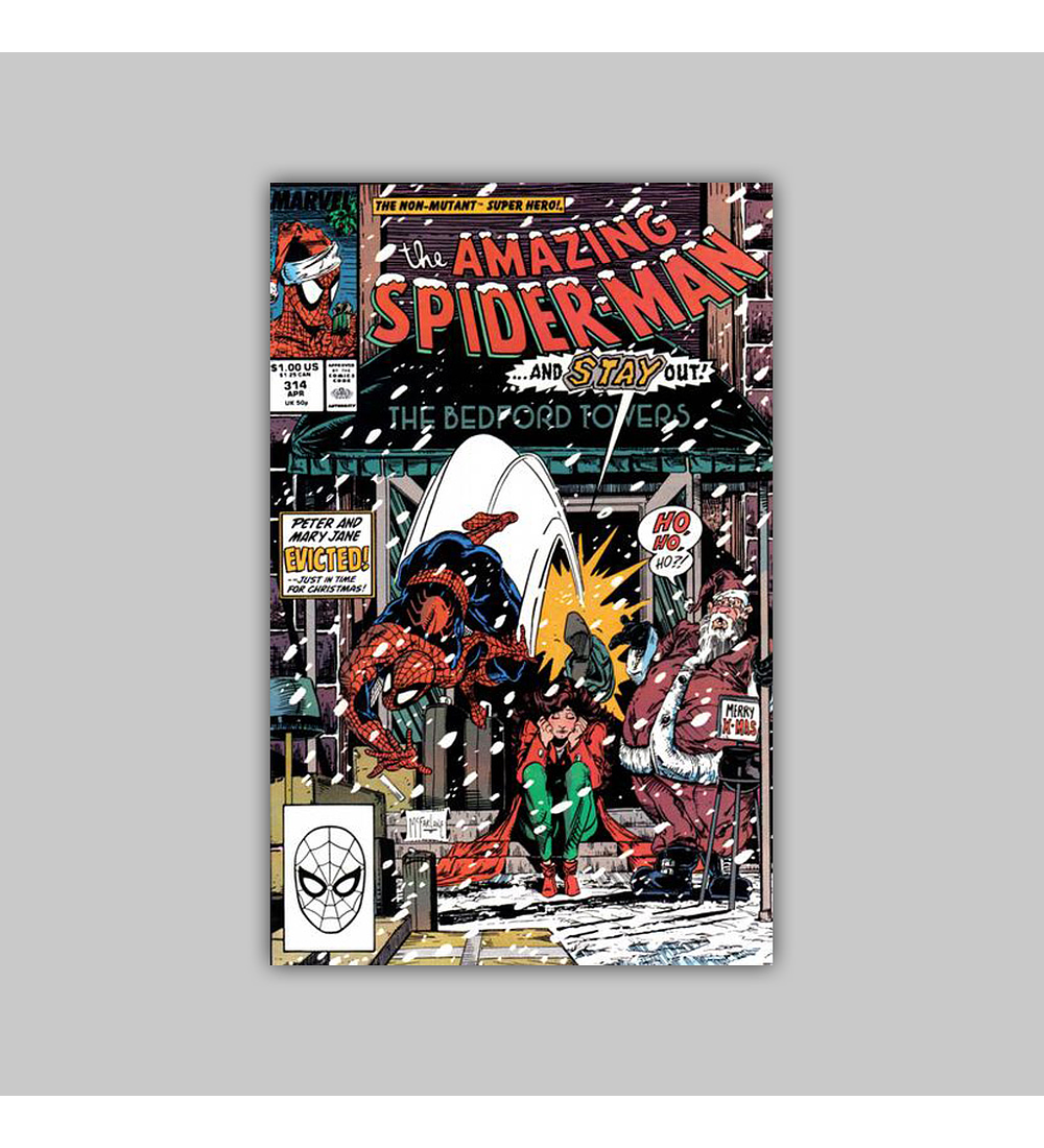 Amazing Spider-Man 314 1989