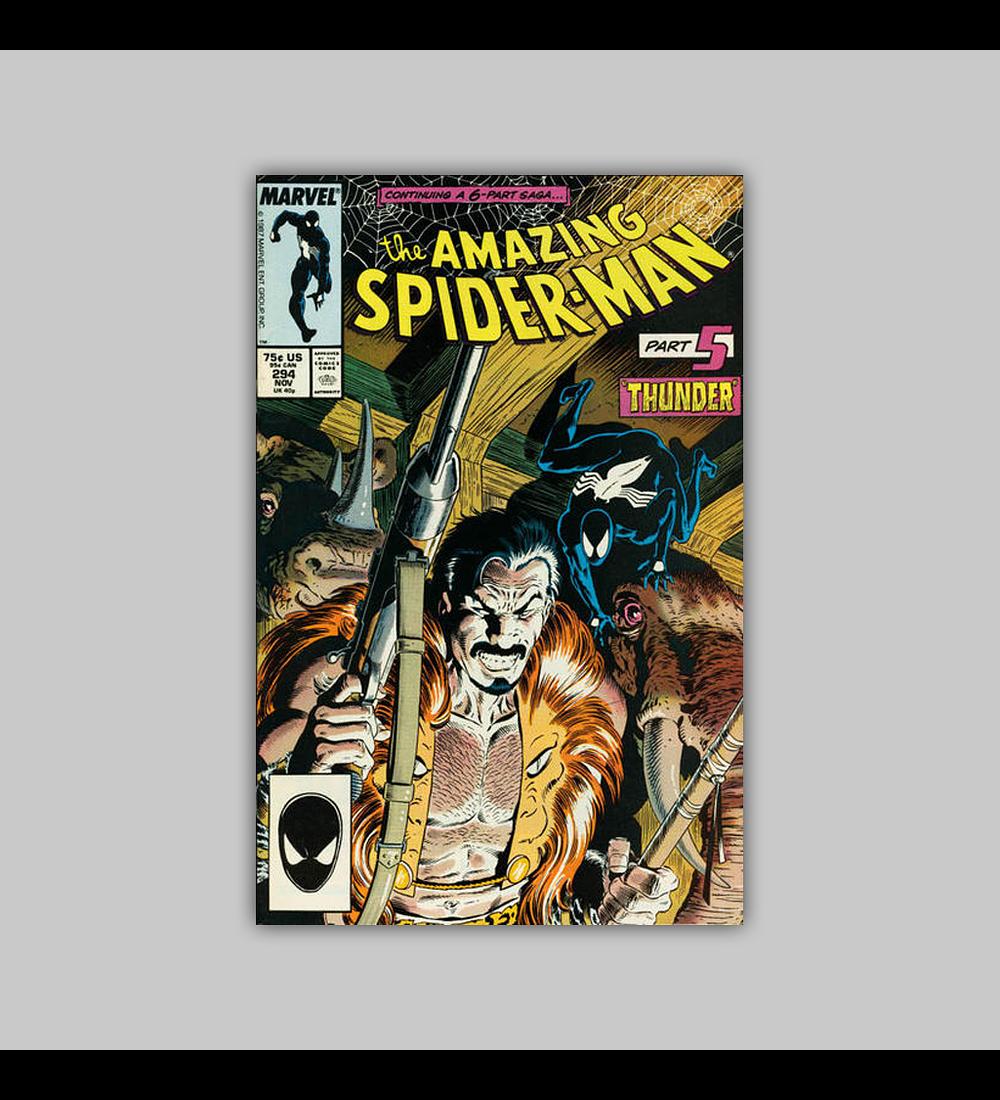 Amazing Spider-Man 294 1987