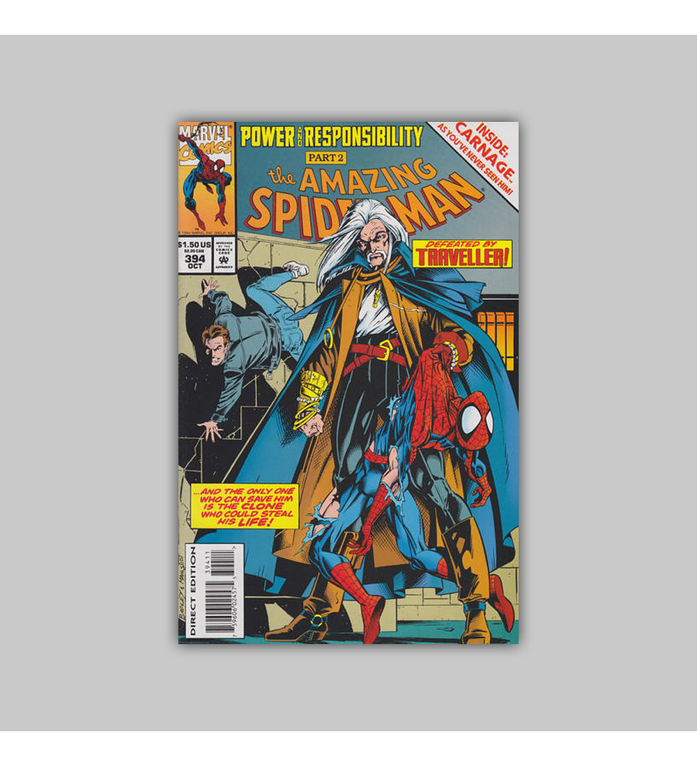Amazing Spider-Man 394 Foil 1994