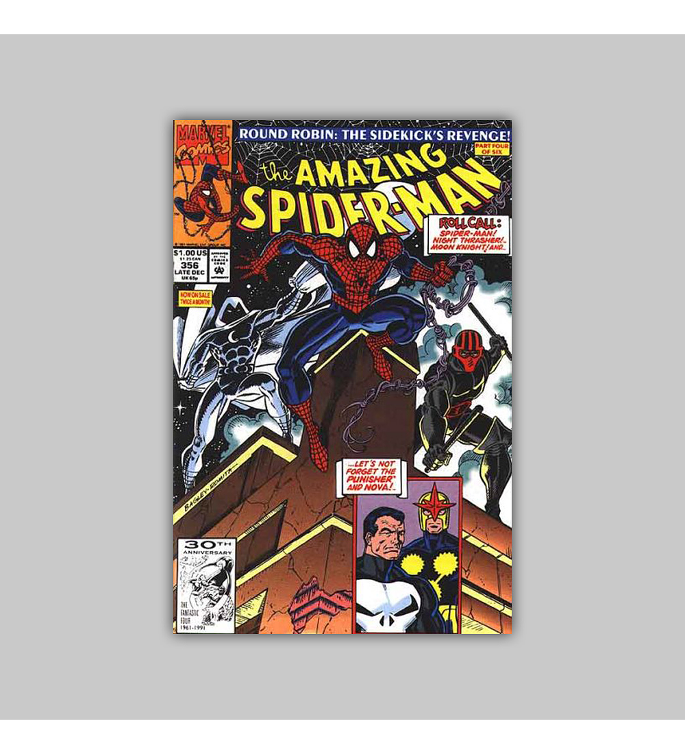 Amazing Spider-Man 356 1991