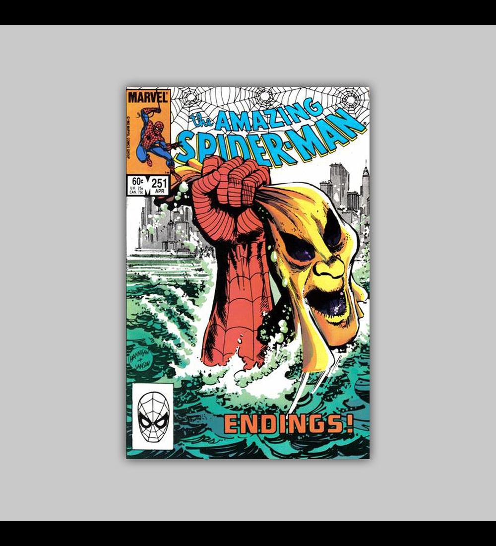 Amazing Spider-Man 251 1984