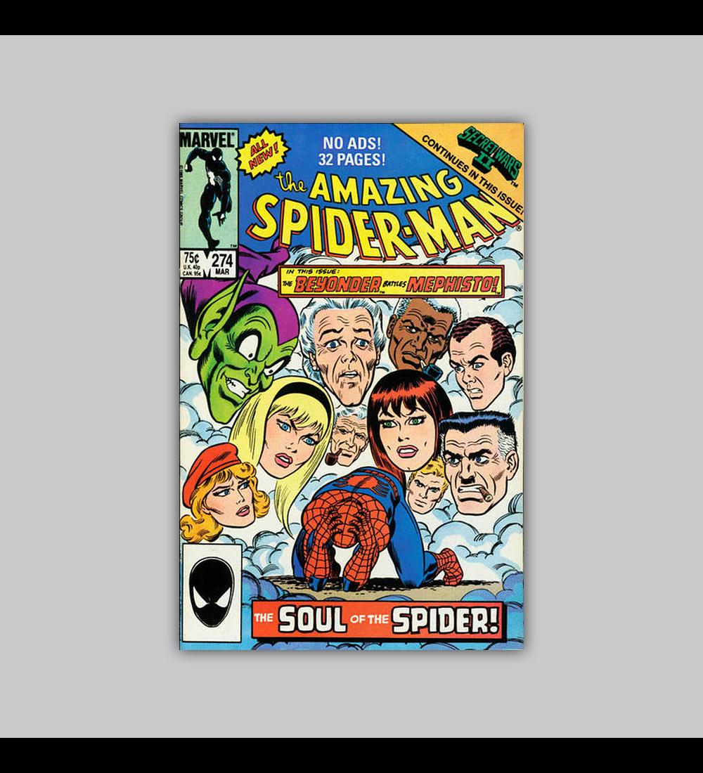 Amazing Spider-Man 274 1986