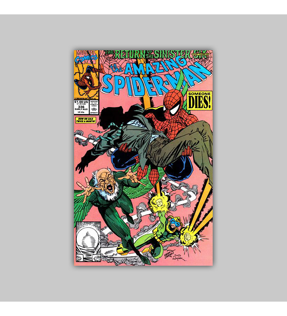 Amazing Spider-Man 336 1990