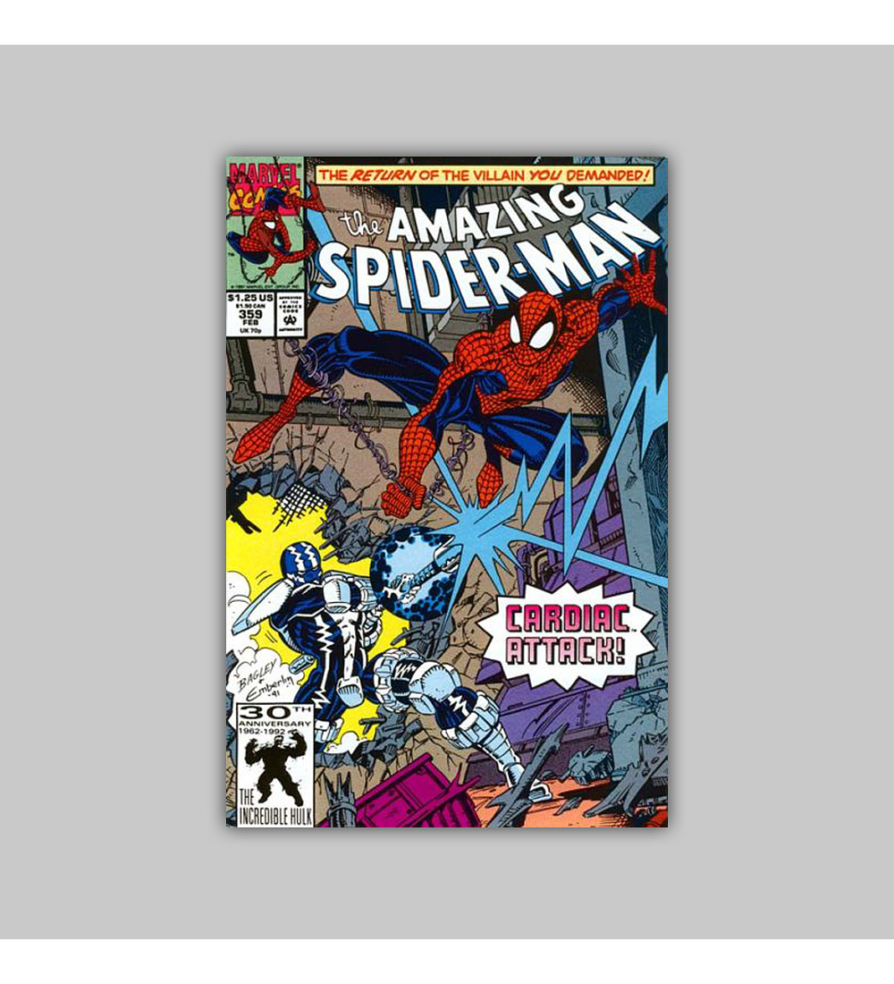 Amazing Spider-Man 359 1992
