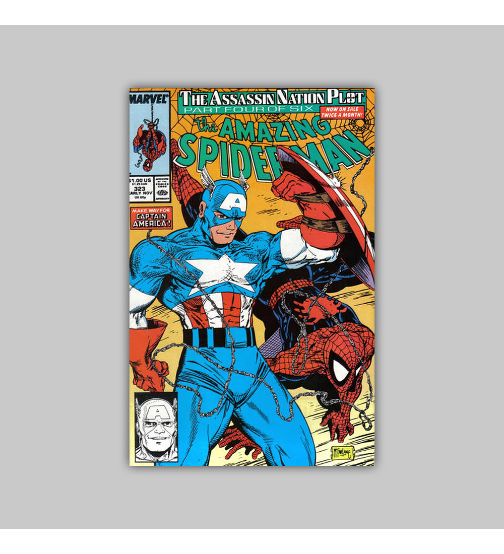 Amazing Spider-Man 323 1989