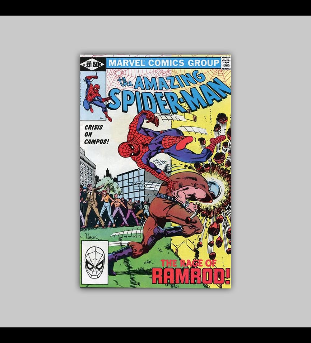 Amazing Spider-Man 221 1981