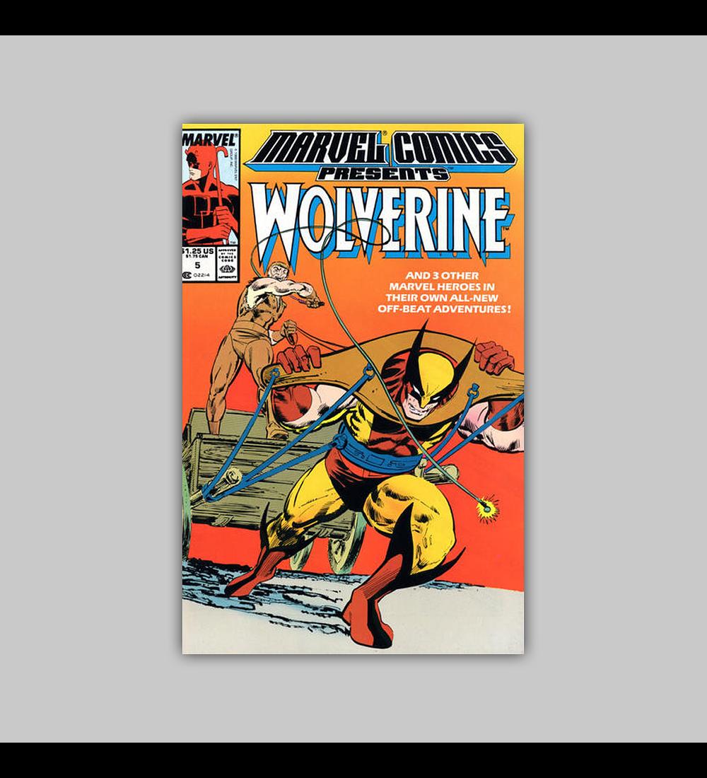 Marvel Comics Presents 5 1988