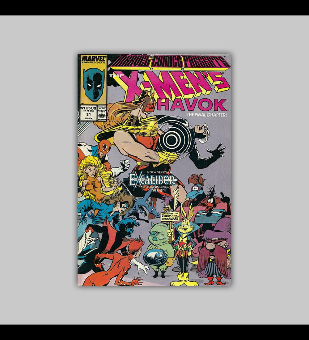 Marvel Comics Presents 31 1989