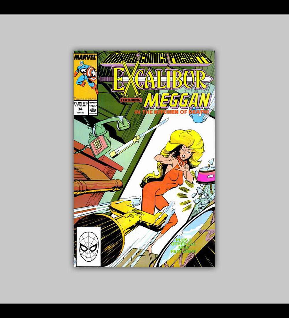 Marvel Comics Presents 34 1989