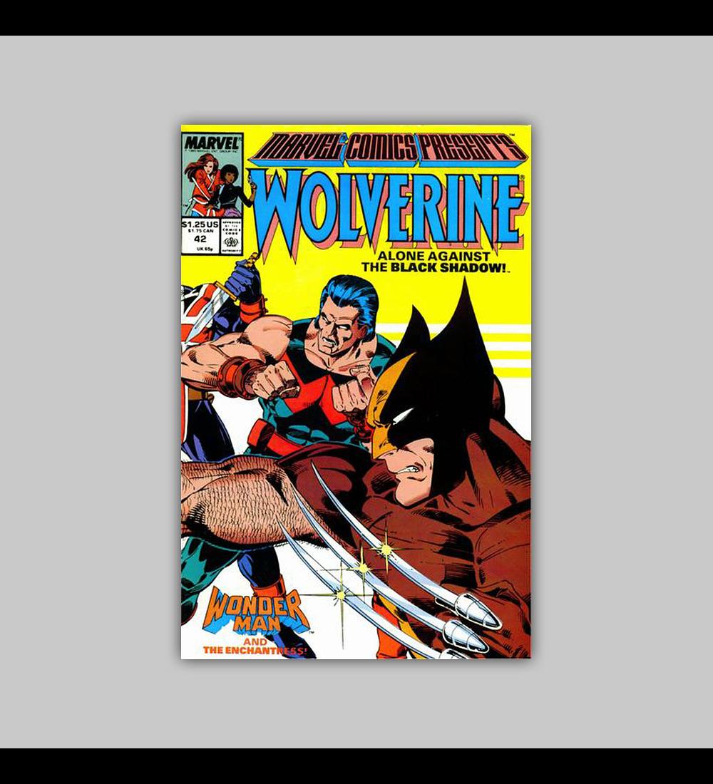 Marvel Comics Presents 42 1990