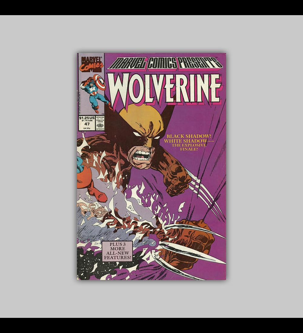 Marvel Comics Presents 47 1990