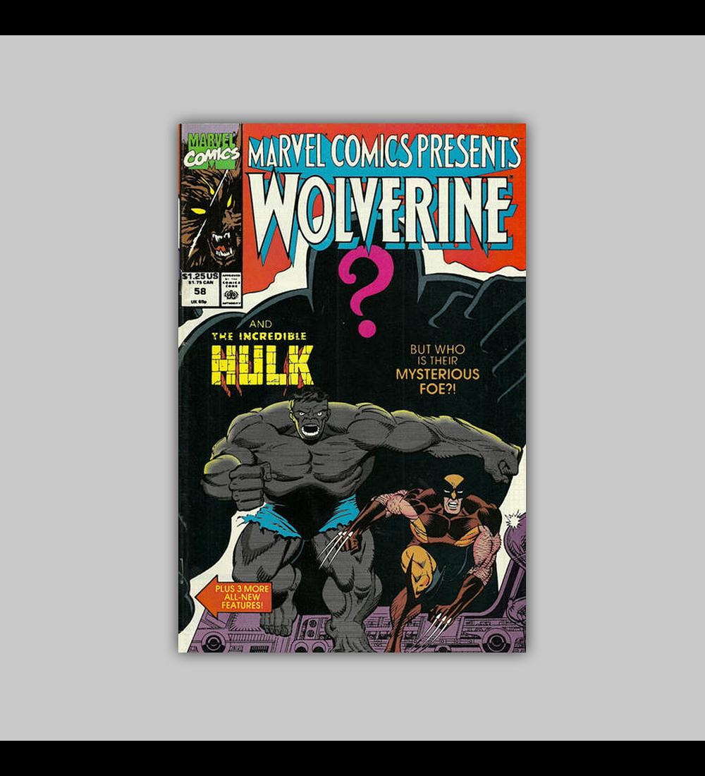 Marvel Comics Presents 58 1990