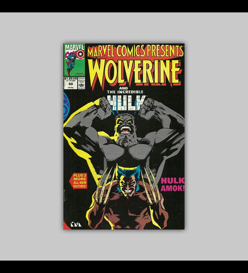 Marvel Comics Presents 60 1990