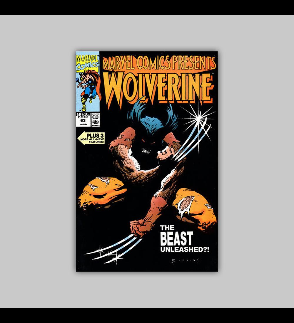 Marvel Comics Presents 63 1990