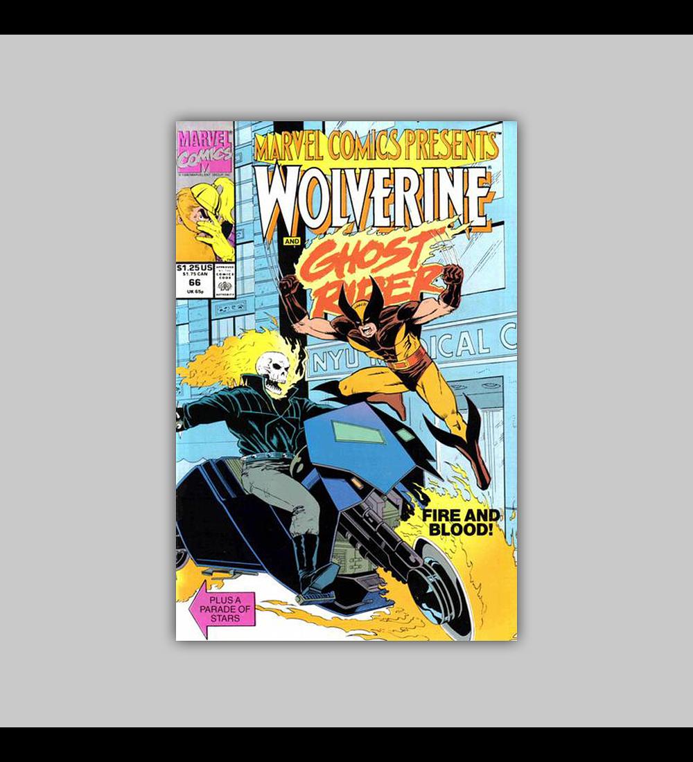Marvel Comics Presents 66 1990