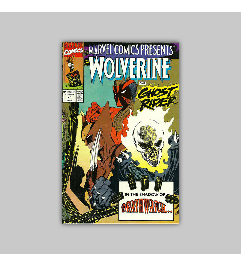 Marvel Comics Presents 71 1991