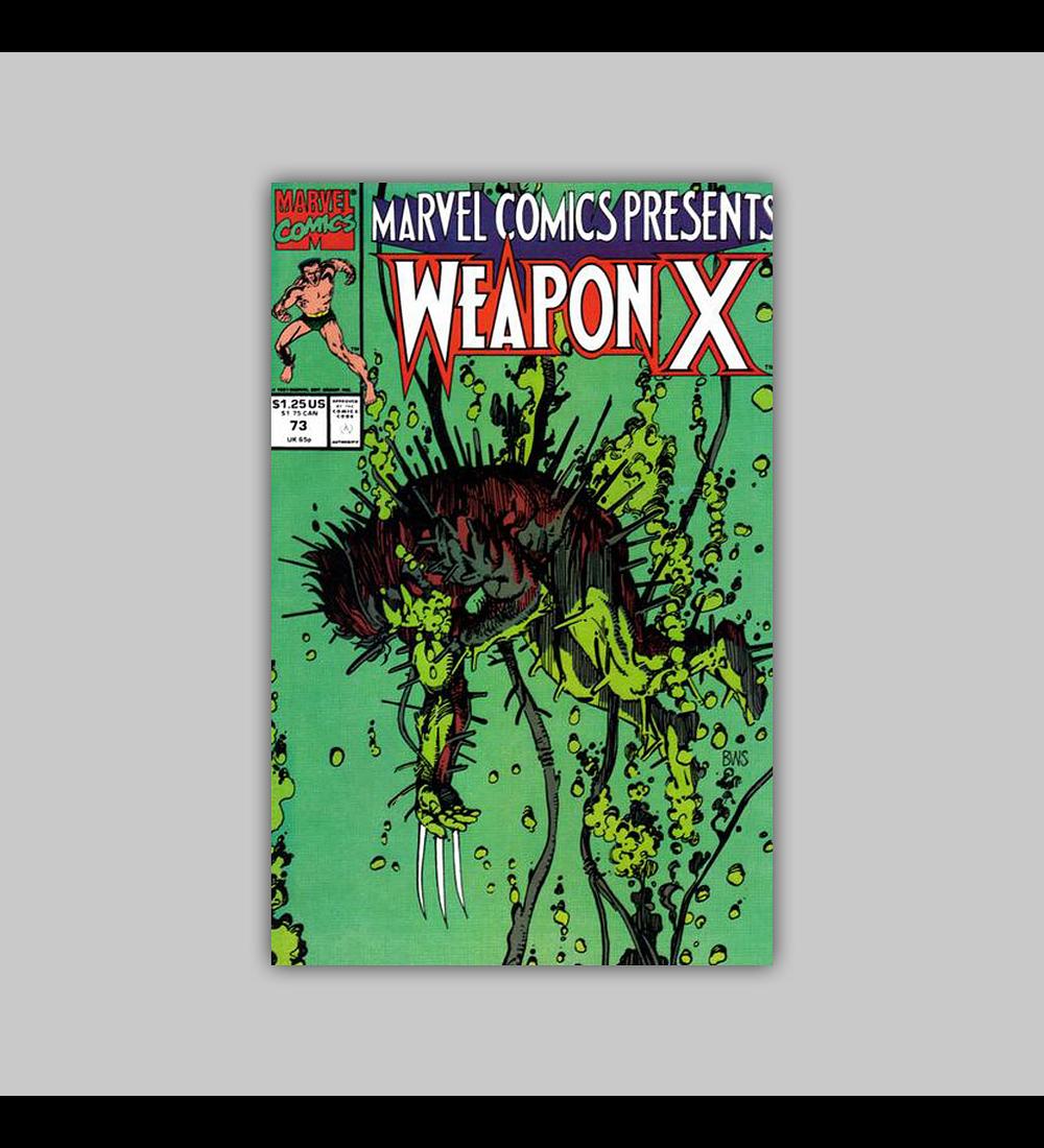 Marvel Comics Presents 73 1991