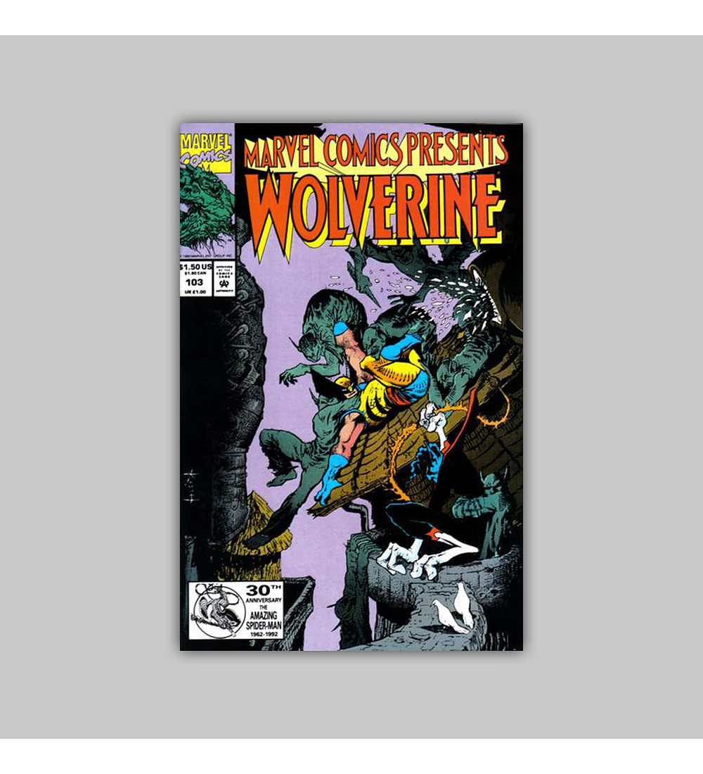 Marvel Comics Presents 103 1992