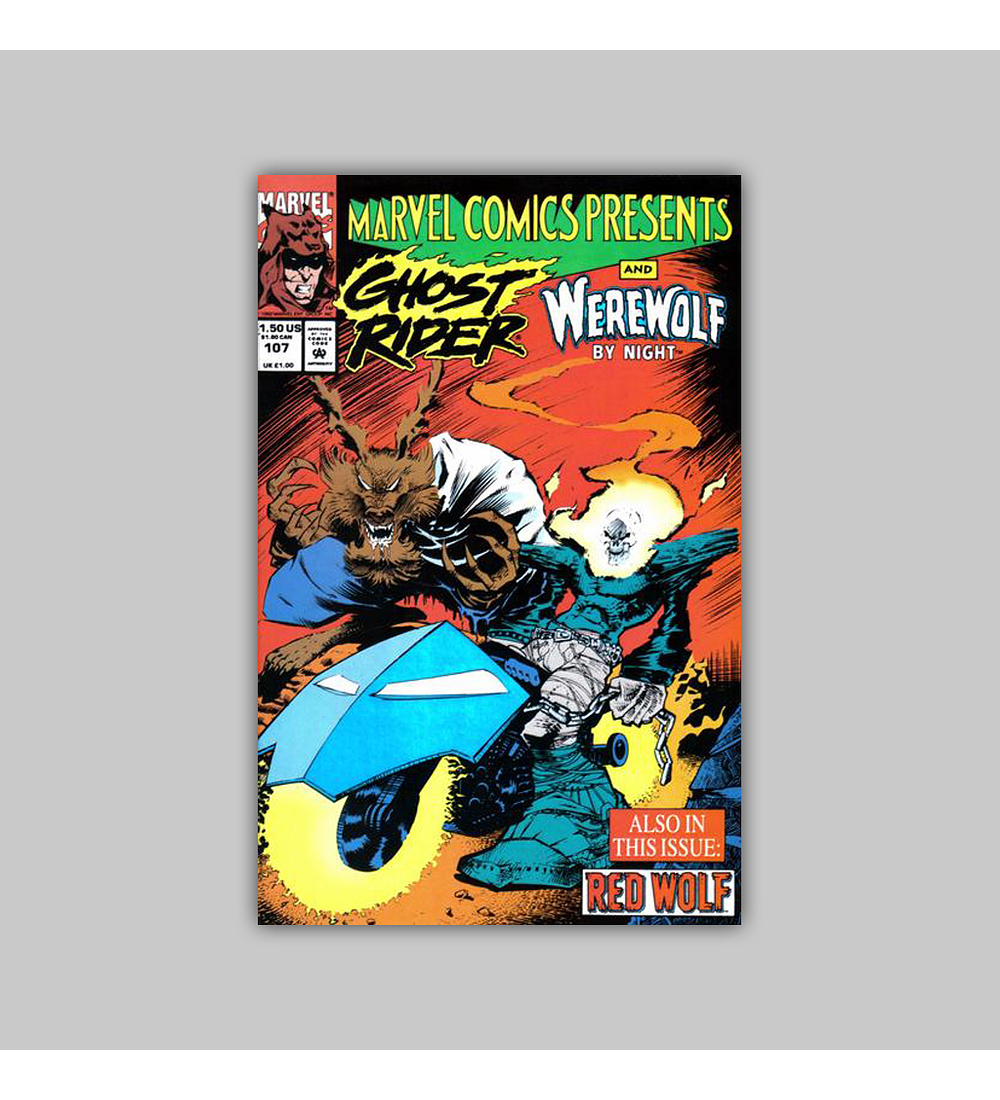 Marvel Comics Presents 107 1992