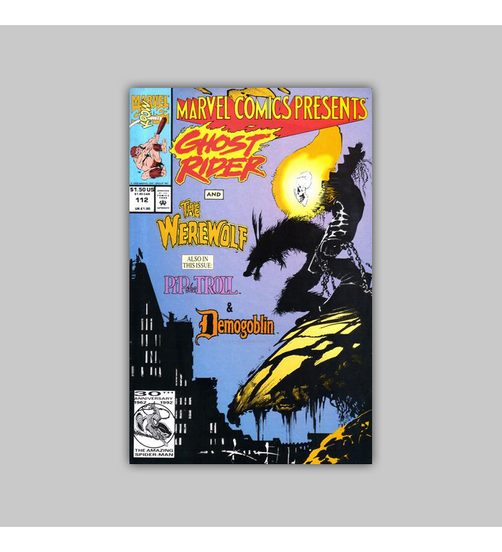 Marvel Comics Presents 112 1992