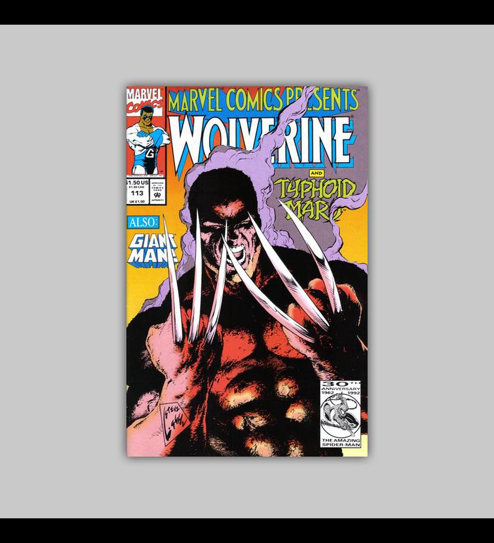 Marvel Comics Presents 113 1992