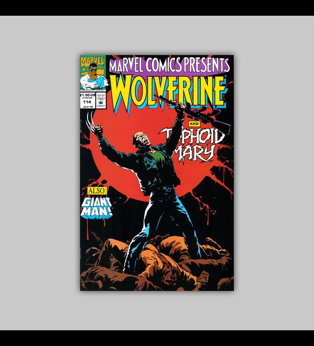 Marvel Comics Presents 114 1992