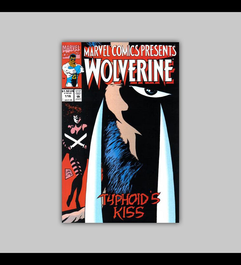 Marvel Comics Presents 116 1992