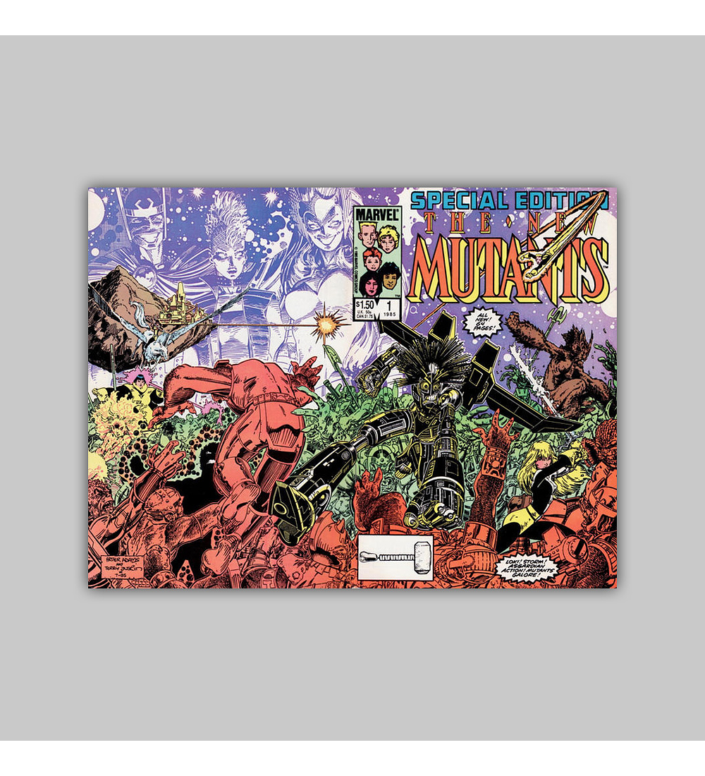 New Mutants Special Edition 1 1985