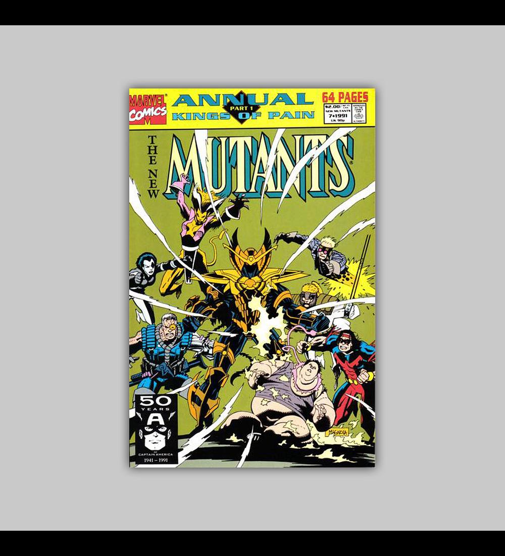 New Mutants Annual 7 1991