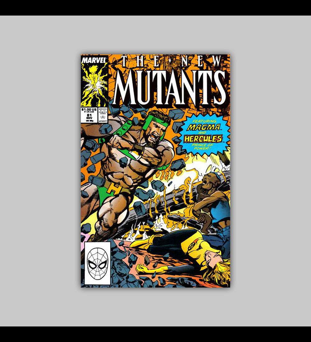 New Mutants 81 1989